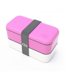 Monbento Lunch box Original, light pink